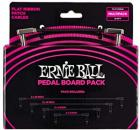 Ernie Ball Flat Ribbon Patch Cables Pedalboard Multi-Pack