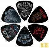 Perri 6 Pack Guns and Roses Picks (LP-GR2)