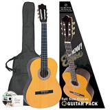 Encore Natural Wood Full Size Classic Guitar Outfit (ENC44OFT)