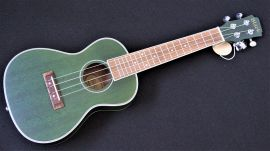 Adam Black Concert Ukulele - green