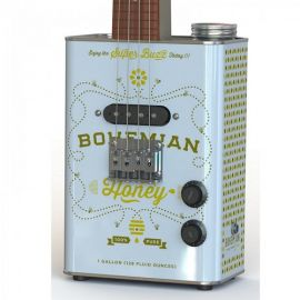 Bohemian BGU15HO Honey Oil Can Ukulele