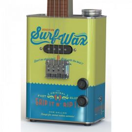 Bohemian BGU15SW Surf Wax Oil Can Ukulele