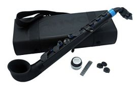Nuvo Instrumental jSax - Black with Blue Trim (N510JBBL)