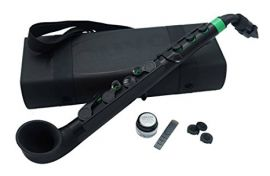 Nuvo Instrumental jSAX-  Black with Green Trim (N510JBGN)