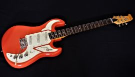 Burns Marquee Guitar - fiesta red