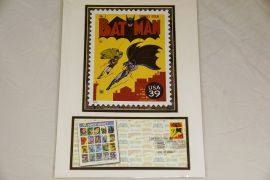 Batman/DC Comic 2006 Stamp Display Card