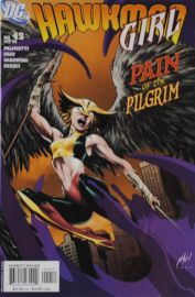 Hawkman Girl - Pain of the Pilgrim