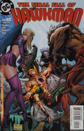 Hawkman (#40) - The Final Fall of Hawkman
