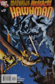 Hawkman (#41) - Manhawk Massacre