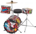 The Beano (Dennis the Menace) 3 Piece Junior Drum Kit