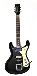 "Danelectro ""The 64"" electric guitar - Limited Edition Black Pearl"
