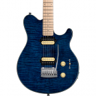 Music Man Sub Axis Flame Maple top Neptune Blue