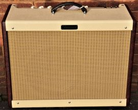 Fender Hot Rod Deluxe Limited Edition - Two Tone - Wine Red - White