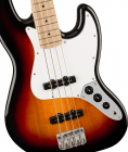 Squier Affinity Series Jazz Bass 3-Color Sunburst with Maple Fingerboard