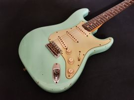 Fender Custom Shop 2011 Relic Strat SF Green Hot Rodded