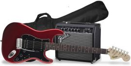 Fender Affinity Series Strat Hss Pack - Candy Apple Red
