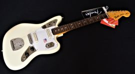 Fender Johnny Marr Jaguar Electric Guitar - Olympic White