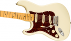 Fender American Professional II Stratocaster Left-Hand, Maple Fingerboard, Olympic White