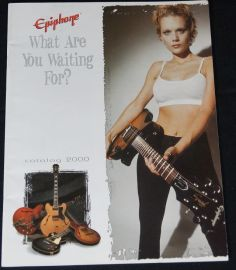 Epiphone 2000 Guitar Catalogue