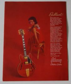 Gibson 1964 Guitar Catalogue