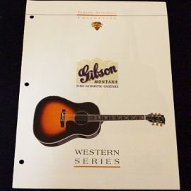Gibson 1994 Western Series Acoustic catalogue