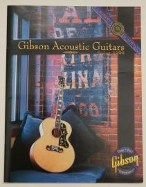Gibson 1999 Acoustic Guitar Catalogue