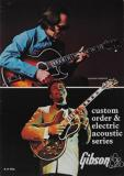 Gibson Catalogue - Custom Order & Electric Acoustic Series