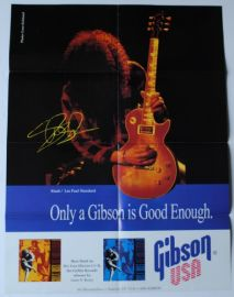 Gibson Les Paul Collection and Slash Poster Catalogue