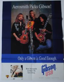 Gibson Les Paul Collection and Aerosmith Poster Catalogue