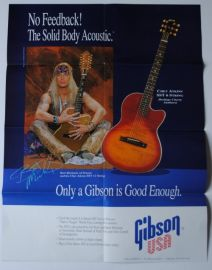 Gibson Chet Atkins Collection and Bret Michaels (Poison) Poster Catalogue