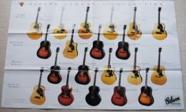 Gibson Acoustic Collection and BB King Poster Catalogue