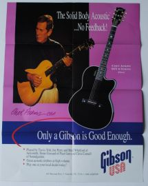 Gibson Chet Atkins Collection Poster Catalogue