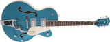 Gretsch G5410T Electromatic Tri-Five Two-Tone Ocean Turquoise Vintage White Semi Acoustic Guitar (Limited Edition)