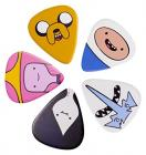 Adventure Time Finn Jake and Cast Guitar Plectrum Set Pick Set