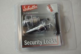 Schaller Strap Locks - Chrome - Pair