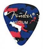Fender 098 0351 - 850 351 Shape Picks, 12 Count - Confetti, Medium
