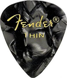 Fender 351 Shape Moto Picks - Thin (12 Pack)