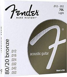 Fender  Acoustic Guitar Strings (Gauge .012 - .052)