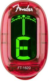 Fender Candy Apple Red Clip On Tuner - 023 9981 009 Ft 1620
