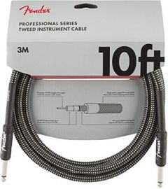 Fender Professional Series 3m Cable - Grey Tweed