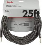 Fender Professional Series Cable 7.5 m - Grey Tweed