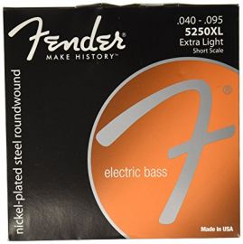 Fender 5250XL Short Scale Bass Strings (040-095)