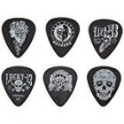 Jim Dunlop Lucky 13 Picks (Pack of 6)