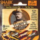 Snark Teddys Neo Tortoise Picks - Thin 0.64mm (Pack of 12)