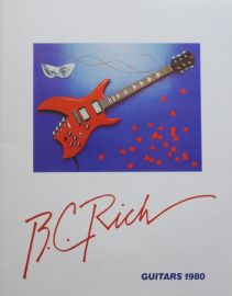 B.C.Rich Guitar Catalogue, Price List and Pullout (1980)