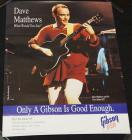 Gibson Dave Mathews Poster/ Chet Atkins Cat.