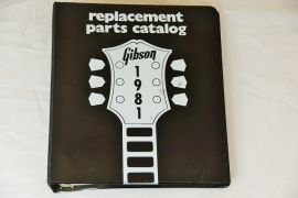 Gibson 1981 Parts Catalogue