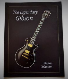 Gibson 1991 Full Colour Electric Collection Catalogue