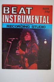Beat Instrumental Magazine - Nov. 71 - Mark Bolan