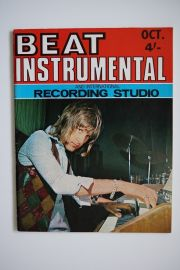 Beat Instrumental Magazine - Oct 69 - Keith Emerson